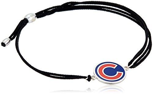 Alex and Ani Kindred Cord Chicago Cubs Sterling Silver Bangle Bracelet