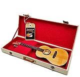 Mini Guitar PACO DE LUCIA Flamenco réplica modelo + Hard Ca