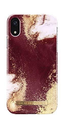 iDeal Of Sweden Handyhülle für iPhone XR (Golden Burg&y Marble)