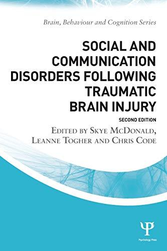 Social and Communication Disorders Following Traumatic Brain Injury (Brain,...