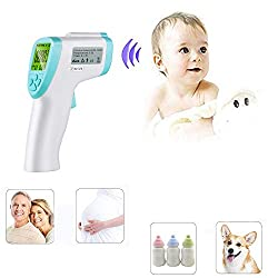 Infrared Medical Infrared Thermometer Digital Non-Contact Forehead Thermometer Accurate Digital for Baby, Adults and Surface of Objects