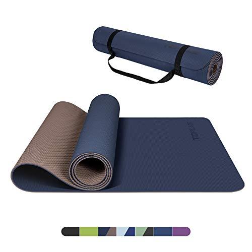 TOPLUS Yogamatte Gymnastikmatte Trainingsmatte Übungsmatte mit...