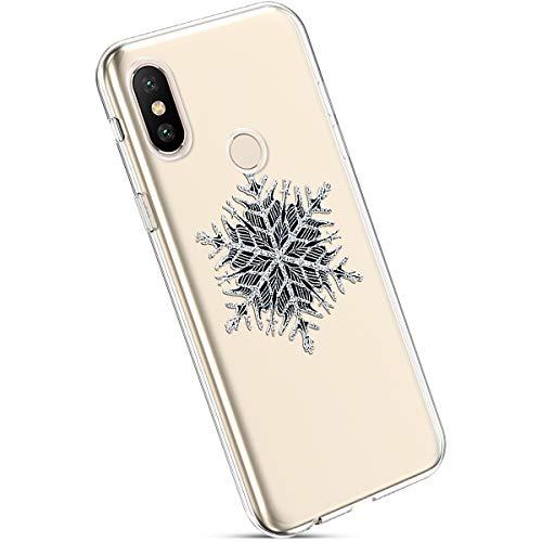 Ukayfe Silicone Coque Con Diamant Strass Anneau Compatible avec Huawei Honor 8X Housse Etui de Protection Glitter Crystal Clear TPU /Étui Protecteur Souple Anti Choc Bumper Case Cover Coquille,Or Rose