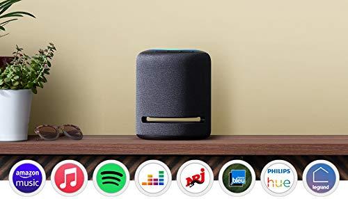 Découvrez Echo Studio, Enceinte connectée avec audio haute-fidélité et Alexa