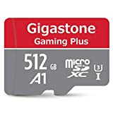 Gigastone Micro SD Card 512GB マイクロSDカード Gaming Plus Nintendo Switch動作確認済 高速 100MB/s 4K 撮影 SDXC UHS-I A1 Class 10