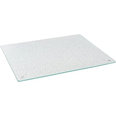 Glass Cutting Board,15 X 11-inch, Tempered Glass