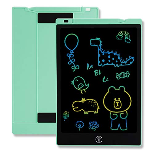 TEKFUN Girls Gifts Toys for 2-6 Year Old Girls, LCD Writing Tablet Toddler Doodle Board, 11inch Colorful Drawing Tablet Writing Pad, Educational and Learning Toy Birthday Gift (Green)