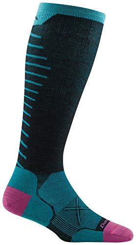 Darn Tough Vertex OTC Ultra-Lightweight Sock with Graduated Light Compression - Women's Black Medium