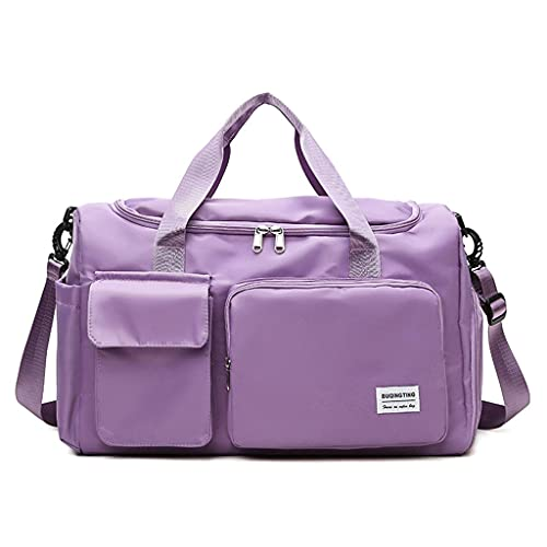 Tanmo Oxford impermeable hombres bolsas de viaje equipaje de mano bolsa de viaje grande de negocios gran capacidad fin de semana bolsa de viaje viaje bolsa de fitness