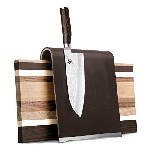Kai SGS 2 Accessoires – Bloc à Couteaux Magnétique Plus Planche à Découper Saddle, Acier Inoxydable, Multicolore, 1 x 1 x 1 cm