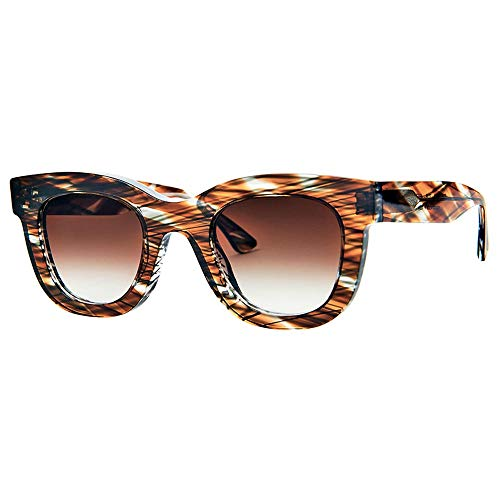 THIERRY LASRY Sunglasses GAMBLY 708 Brown & Grey Multicolor Brown Gradient Lenses 49 mm