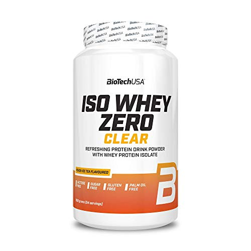 BioTech USA ISO Whey Zero Clear, 1362 g Dose (Peach Ice Tea)