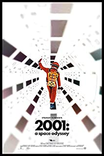 "2001: A Space Odyssey - (24"" X 36"") Movie Poster - Guaranteed Certified Poster Office Prints with Holographic Numbering for Authenticity."