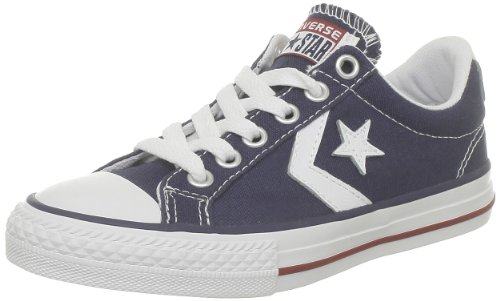 Converse Lifestyle Star Player Ev Ox, Zapatillas Unisex niño, Azul Navy White...