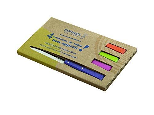 Opinel Messersatz Esprit Pop, versch. Farben Messer Set, Stahl, grau, M