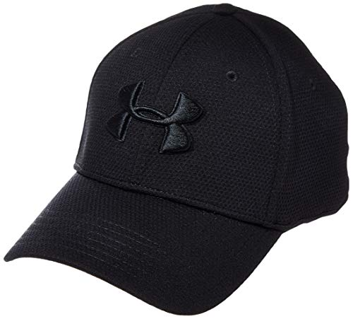 Under Armour Blitzing II - Gorra, Hombre, Negro (Black 023) M/L