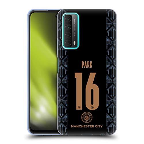 Head Case Designs sous Licence Officielle Manchester City Man City FC Jess Park 2020/21 Away Kit des Femmes Groupe 2 Coque en Gel Doux Compatible avec Huawei P Smart (2021)