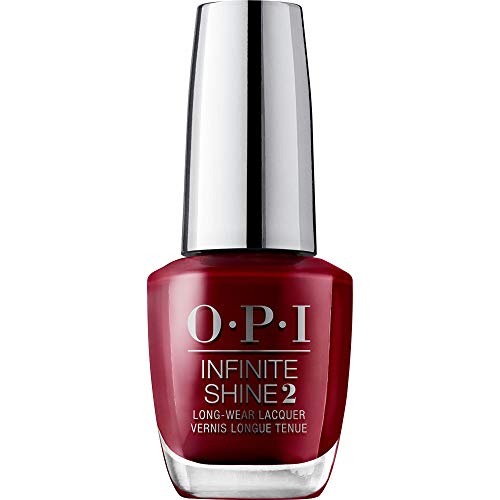 OPI Infinite Shine - Nagellack in Rottönen mit bis zu 11 Tagen Halt – Gel-Look & ultimativer Glanz - 15ml