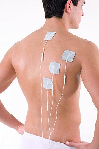 SaneoTENS Schmerzlinderung elektrischer TENS Nervenstimulator zur Schmerzlinderung am gesamten Körper   deutsche Markenqualität   Medizinprodukt   Tensgerät, Reizstrom-Gerät, Therapie-Gerät mit TENS Elektrostimulation