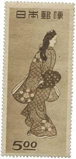 日本記念切手 切手趣味週間 見返り美人 5円 1948年