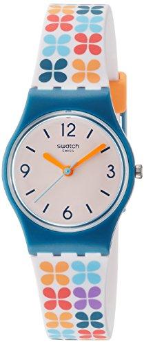 Swatch Reloj Analógico para Mujer de Cuarzo con Correa en Silicona LN151