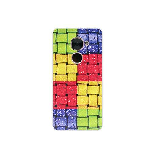 Easbuy Handy Hülle Soft Silikon Case Etui Tasche für Letv 2 2 Pro LeEco Le 2 2 Pro Le2 Smartphone Cover Handytasche Handyhülle Schutzhülle