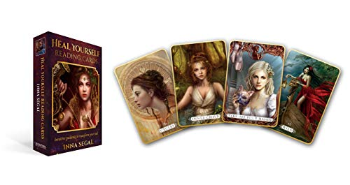 Heal Yourself Reading Cards: Intuitive Guidance to Transform Your Soul - 36 full colour cards & 96pp book