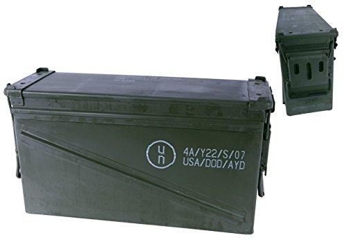 Unbekannt US Munitionskiste Größe 5 Oliv gebraucht 47 x 15,5 x 25 Transportkiste Munikiste Kiste