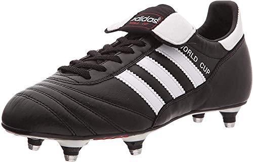 Adidas - Originals World Cup - Chaussures de football - Mixte Adulte - Noir (Black/Running White Footwear) - 47 1/3 EU