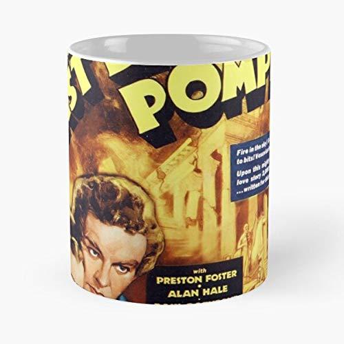 OriginalFavorites Pompeii Italian 1960S Vintage 60S Movie Film Retro Best 11 Ounce Ceramic Coffee Mug Gift
