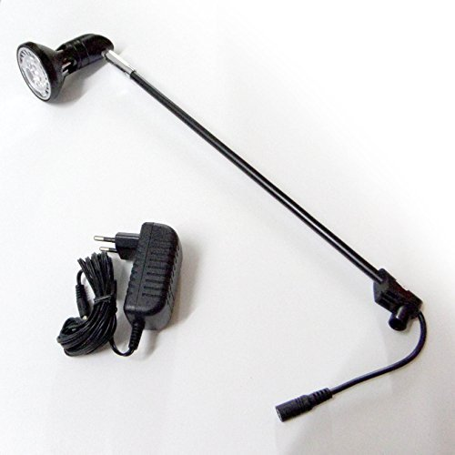 Led-displaylamp voor banners/rolgordijnen om op de handgreep te bevestigen.