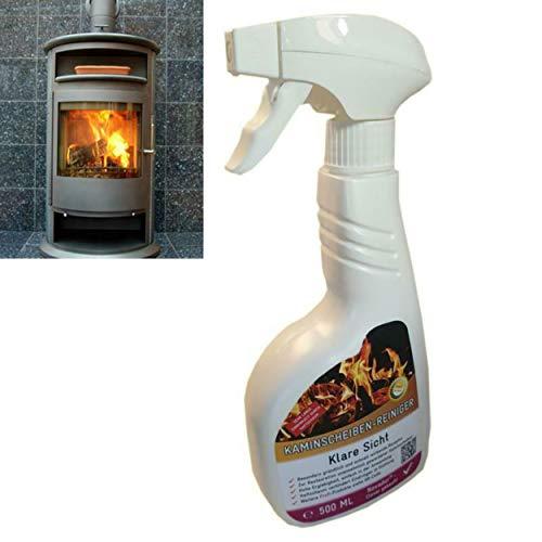 Profi Premium Kaminscheiben Kamin Reiniger Spray Ofen Glasreiniger Ofenspray Ofenglas 500ml