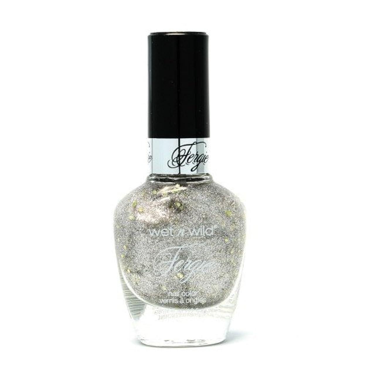 療法趣味WET N WILD Fergie Heavy Metal Nail Polish - Titanium Crush (DC) (並行輸入品)