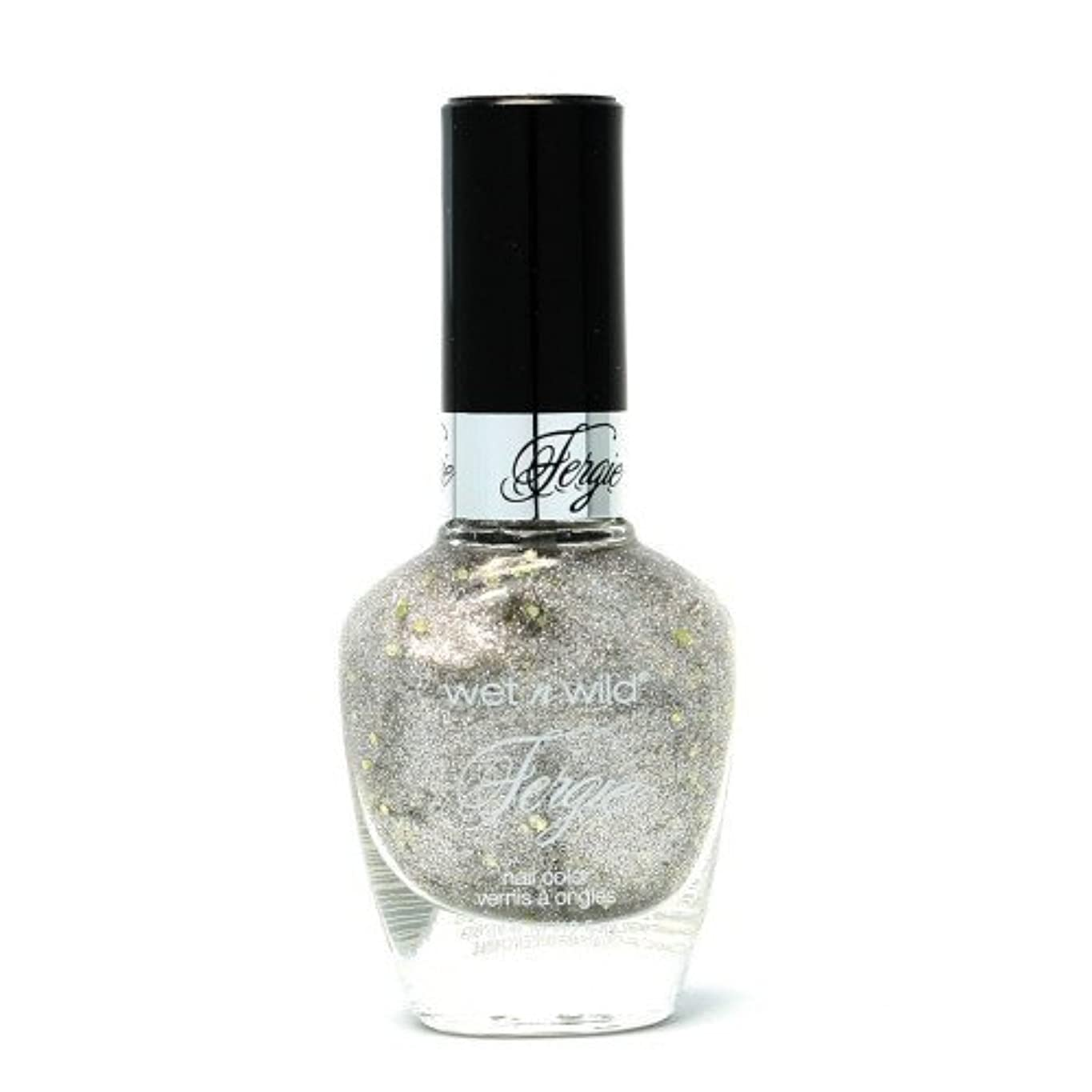 本部パレード退化する(3 Pack) WET N WILD Fergie Heavy Metal Nail Polish - Titanium Crush (DC) (並行輸入品)