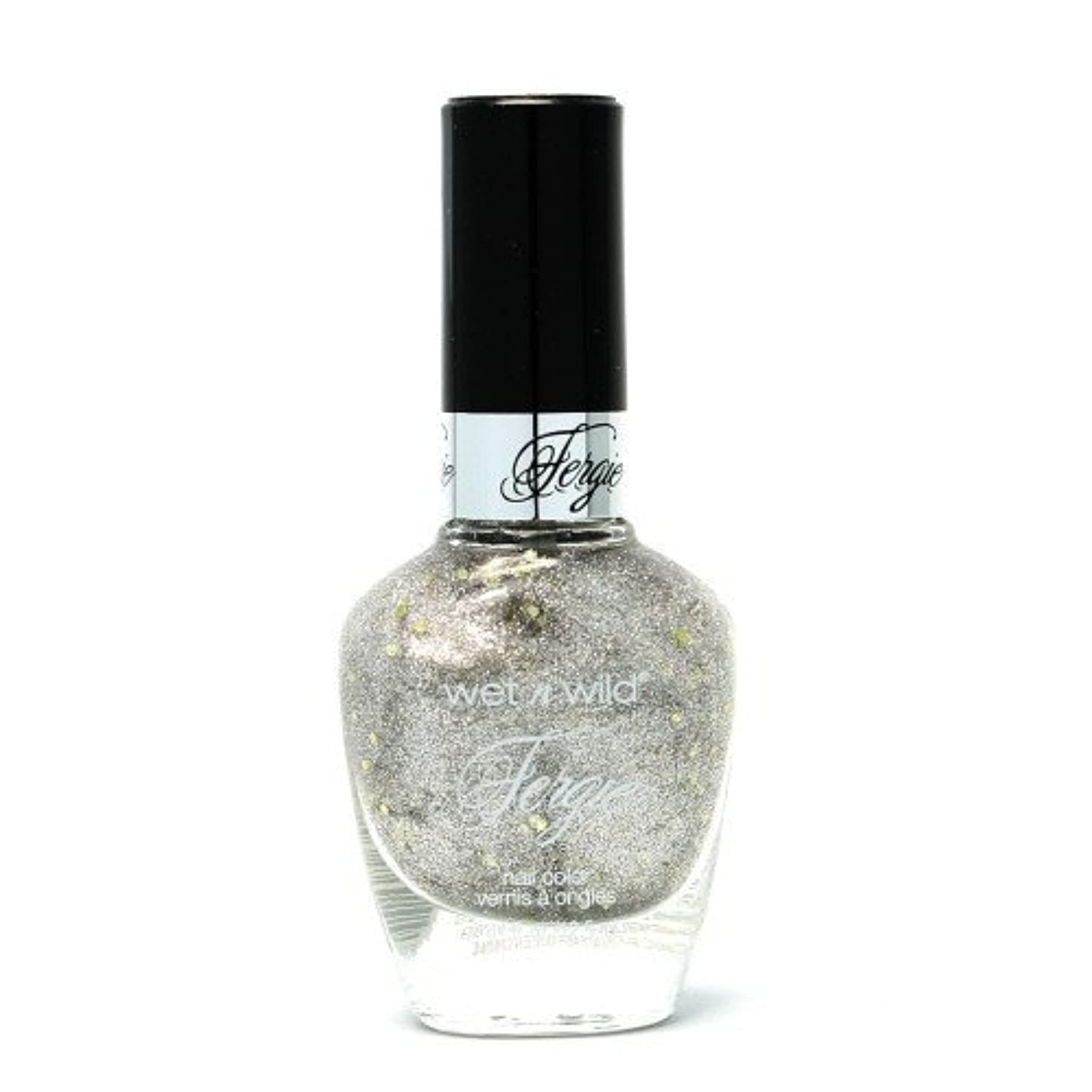 忘れっぽい政府従うWET N WILD Fergie Heavy Metal Nail Polish - Titanium Crush (DC) (並行輸入品)