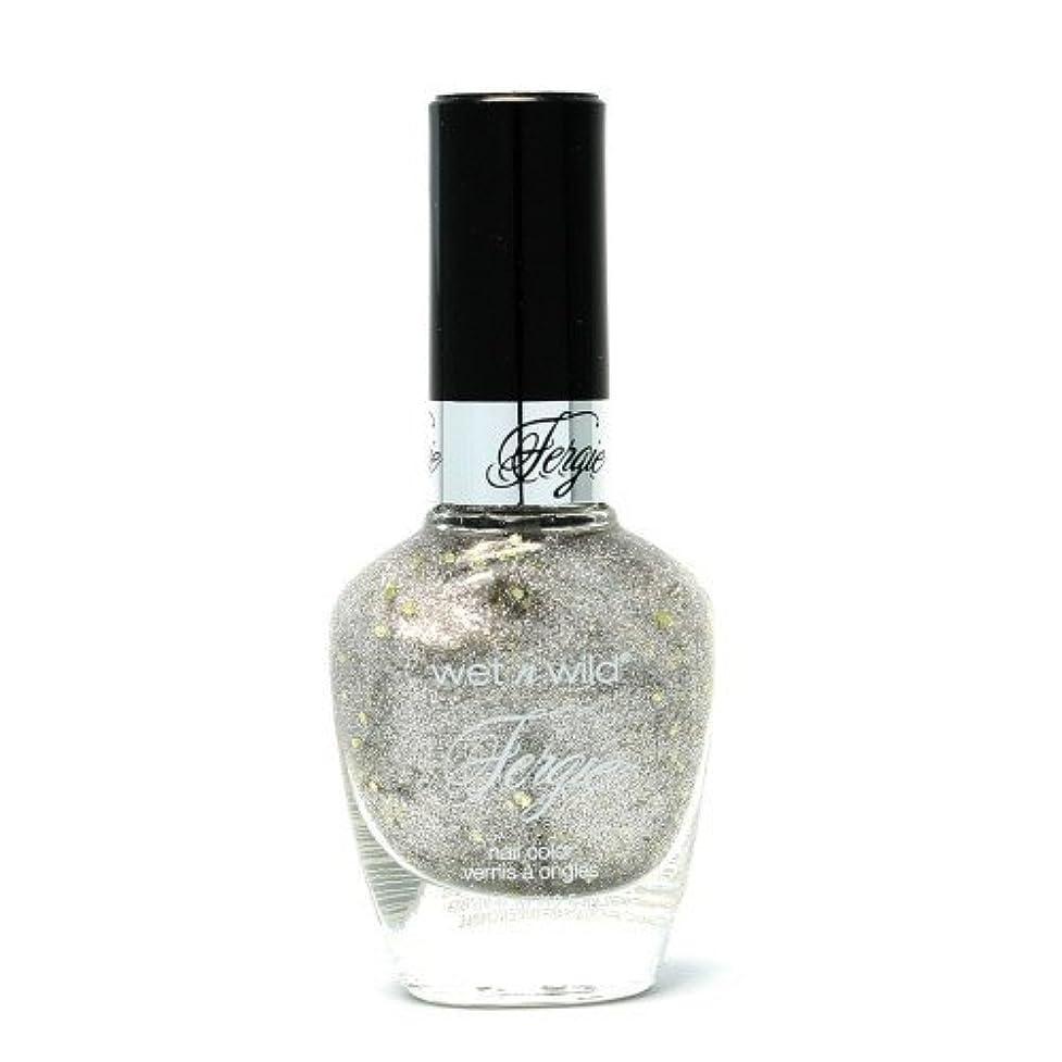 どうしたのティッシュ保全(6 Pack) WET N WILD Fergie Heavy Metal Nail Polish - Titanium Crush (DC) (並行輸入品)