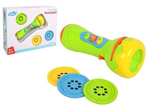 HH Poland Projektor Diashow Taschenlampe für Kinder Bildungs - Spielzeug Projektionslampe