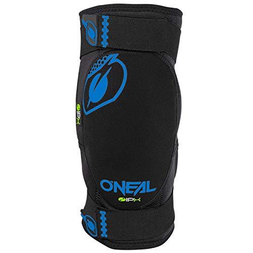 O'NEAL | Knieprotektor | BMX Mountainbike Downhill | IPX®- Aufprallschutz aus Polyurethan, Leichte Konstruktion, Abriebfestes Material | Dirt Knee Guard | Erwachsene | Blau Schwarz | Größe XL