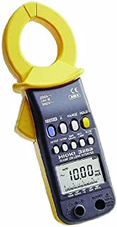 Hioki HiTester 3283 True RMS Clamp-Meter, 10mA to 200A AC Leakage Current, Conductors to 40mm, Frequency Measurement