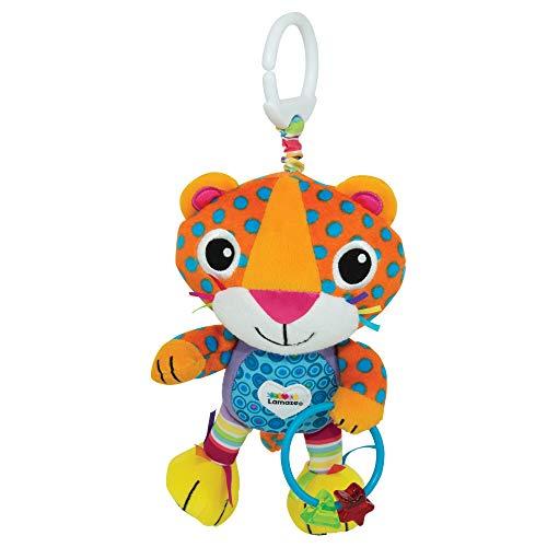 Lamaze Baby Spielzeug Lionel, der Leopard Clip & Go | Hochwertiges Kleinkindspielzeug | Greifling stärkt Eltern-Kind-Bindung | Ab 0 Monate