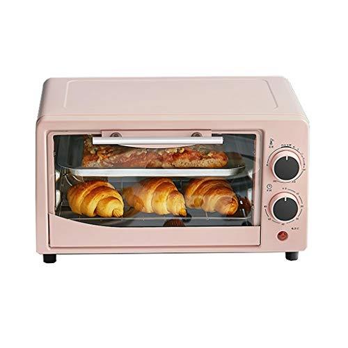hsj WYQ- Piccolo Forno 12 Litri della Famiglia di Cottura Forno Elettrico Multifunzione Mini Automatica del Forno Cottura (Color : Pink)