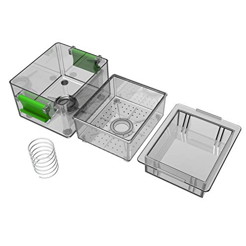 Premium Tofu Press, The Most Effective Presser to Get Water Out of Tofu Block, Built in Tofu Strainer and Drip Tray, Safe for Dishwasher and Refrigerator - Better Flavor and Texture