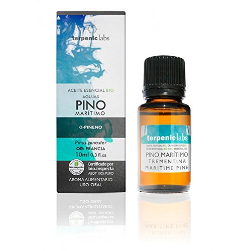 Terpenic evo Pino Maritimo Aceite Esencial Alimentario Bio 10Ml 1 Unidad 200 g