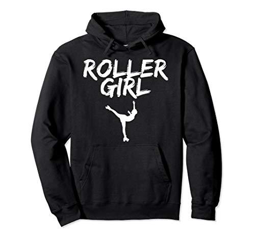 Roller Girl Rollkunstlauf. Für Rollschuh Mädchen rollergirl Pullover Hoodie