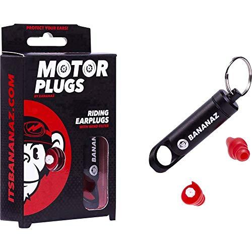 Bananaz motorplugs gehoorbescherming oordopjes voor motorrijders