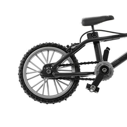 Toygogo 4 piezas 1:24 mini aleación dedo bicicleta escritorio vehículo modelo divertido juguete para niños