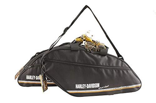 made4bikers: Bedruckte Innentaschen passend für die Koffer der Harley-Davidson Sport Glide Modelle ab 2019