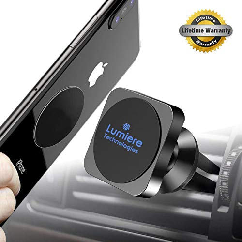 Magnetic Phone Mount for Car, Universal Magnetic Phone Mount and Holder for Any Phone, GPS, Including iPhone Xs MAX/XR/XS/X/8 Plus, Note 9/S9, Best Magnetic Phone Mount and Holder for 2019