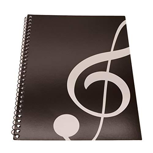 Blankonoten Notenheft Notenbuch Manuskriptpapier Notizbuch für Musiker Staff Paper