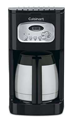 Cuisinart DCC-1150BKP1 Classic Thermal Programmable Coffeemaker Coffemaker, 10-Cup, Black